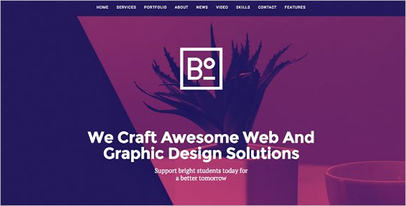 Awesome WordPress Website Template