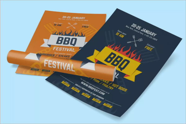 Party Poster PSD Template
