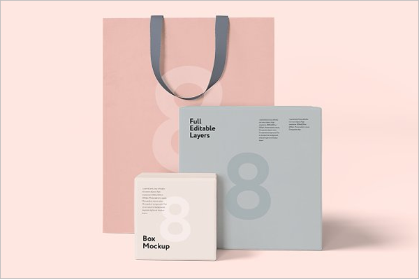 Bag Mockup Photoshop Design