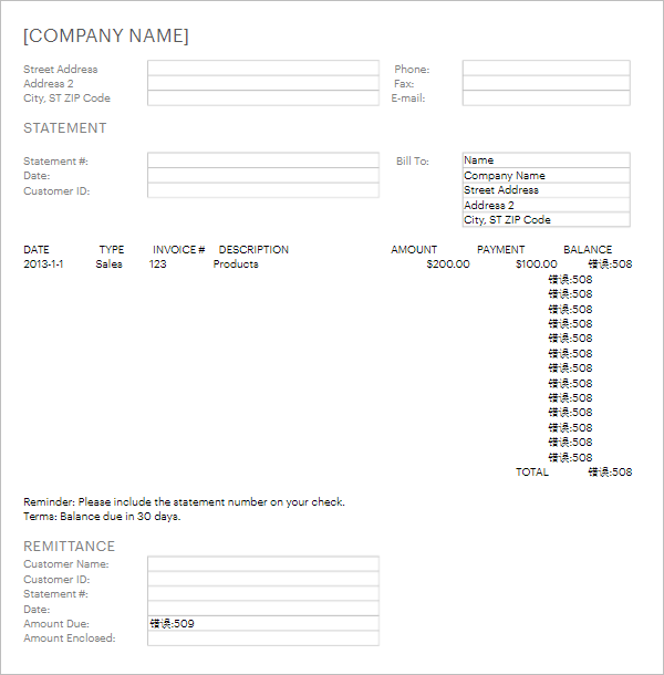 Bank billing statement template bank billing statement template thecheapjerseys Image collections