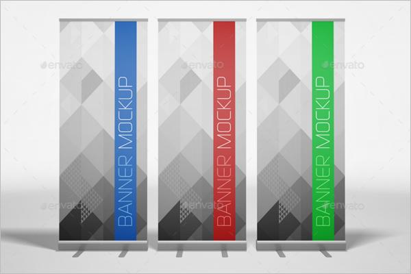 Banner Ad Mockup Design