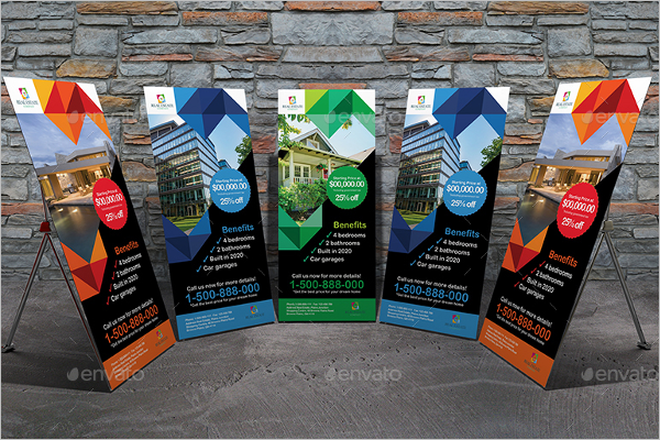 Banner Mockup Design Pack