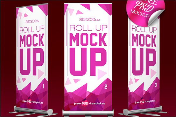 57 Banner Mockups Psd Free Design Templates