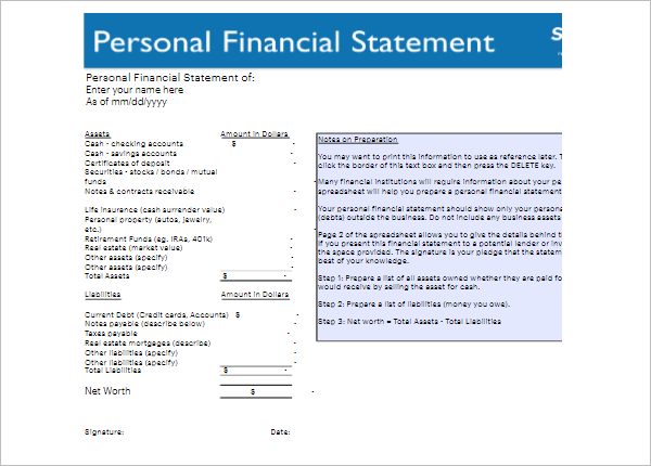 30  free bank statement template pdf  psd  doc  excel