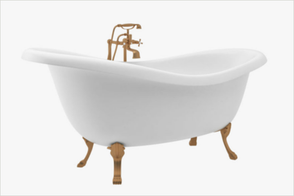 Bath Tub 3D Design