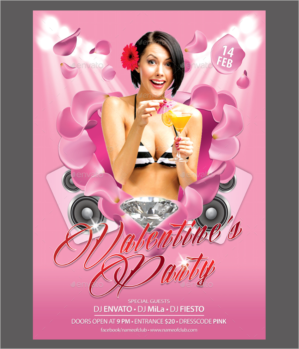 Beautiful Party Poster Template