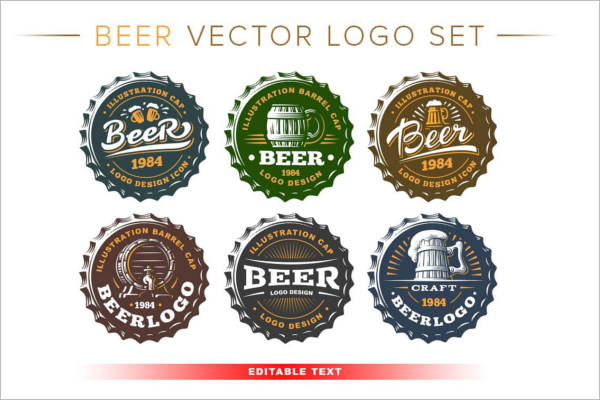 Beer Logo Design Template