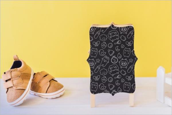 Belt Shoe Mockup Free Design
