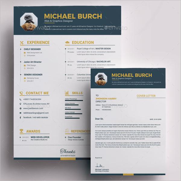 Best CV Design Template