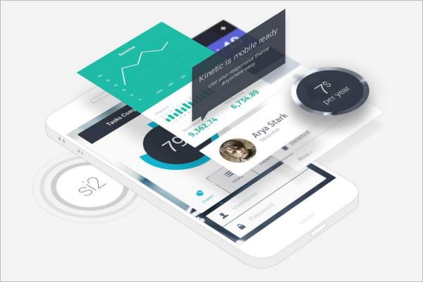 BestMobile App Mockup Design