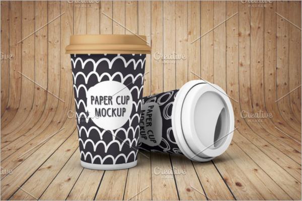 Best Paper Cup Mockup Design