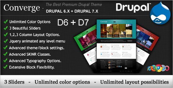 Best Premium Drupal Theme