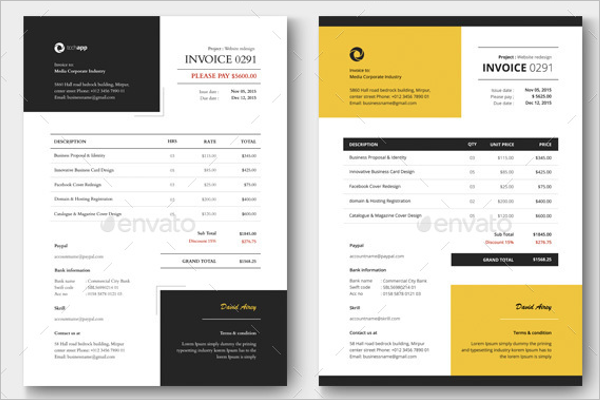 Best Sales Invoice Template