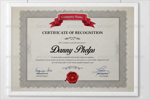 Best Selling Certificate Design