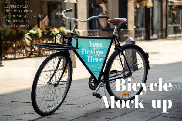 Bicycle Mockup Model