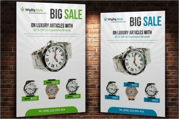 Big Clearance Sale Flyer Template