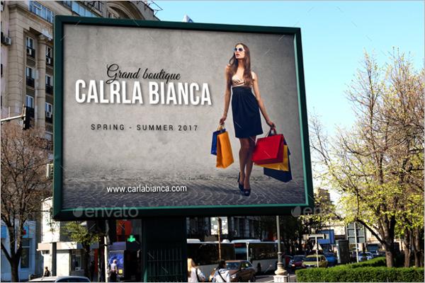 Billboard Banner Mockup Design