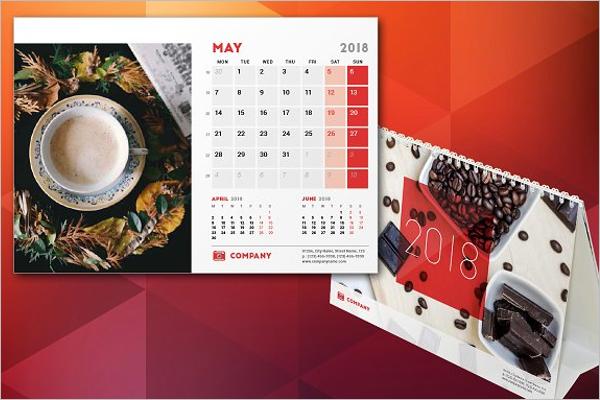 Birthday Calendar Design Template