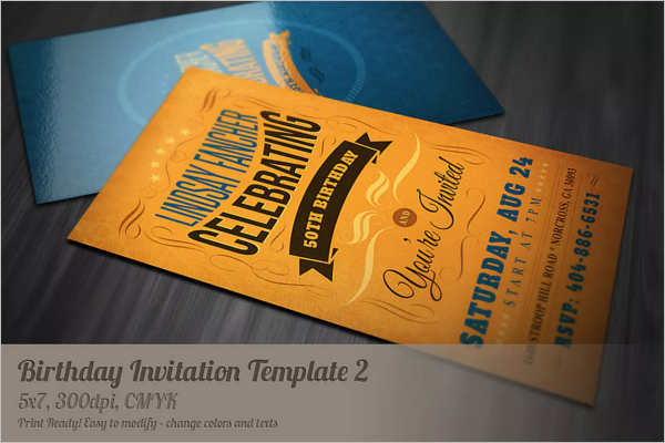 Birthday Celebration Invitation Template.png