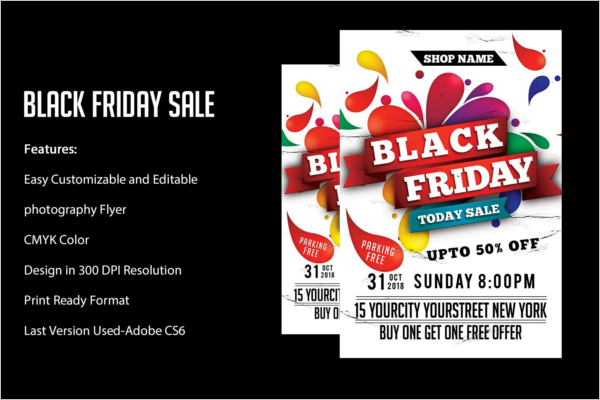 Black Friday Clearance Sale Flyer