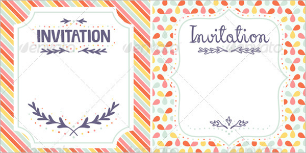 Blank Invitation Template