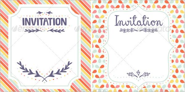 Blank Invitation Template