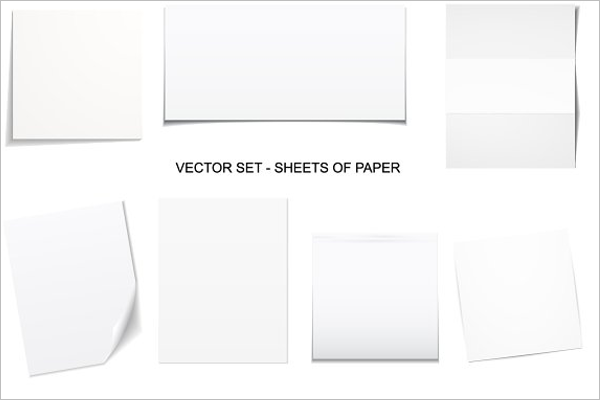Blank Paper Template