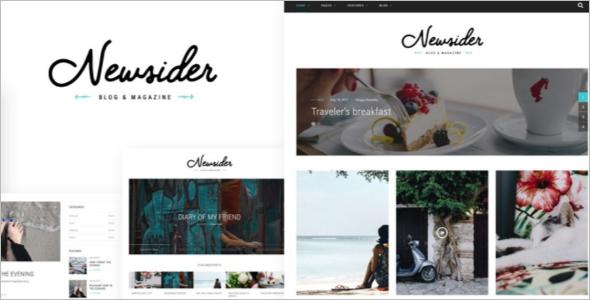 Blog Clean WordPress Theme
