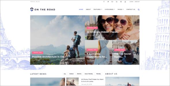 Blog Theme For Best Traveller