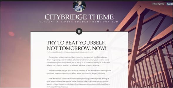 Blogger Tumbler Theme