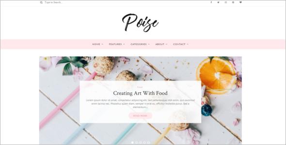 Blogger Website Theme