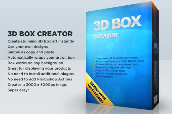 Box Art Creator Template