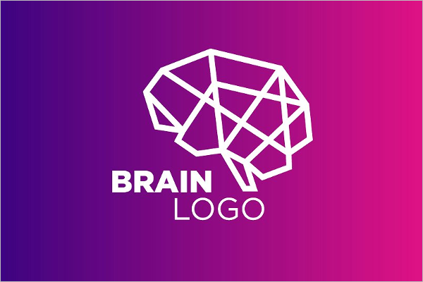 Brain Logo Design Template