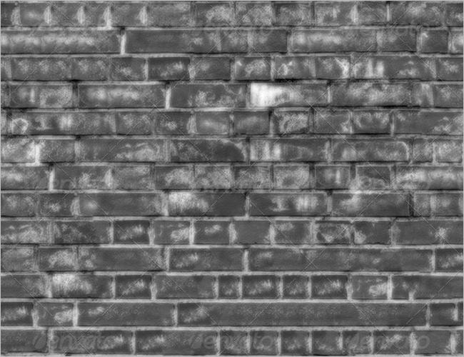 3D Texture Brick Wallpaper Design