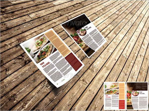 3d Flyer Design ForRestaurant