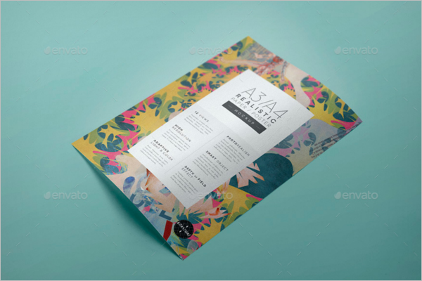 A3 Paper Mockup Template