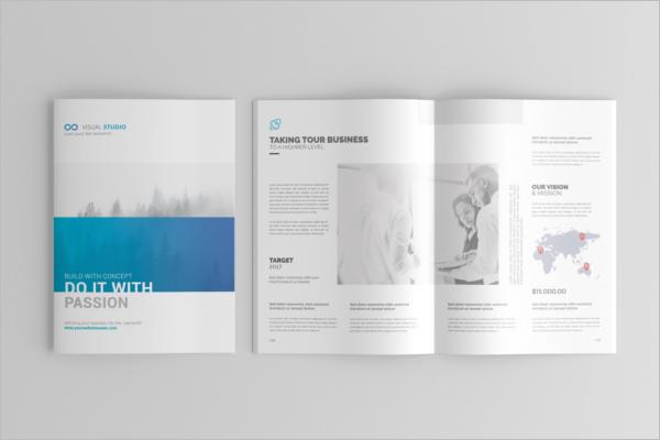 A4 Brochure Catalogue Design