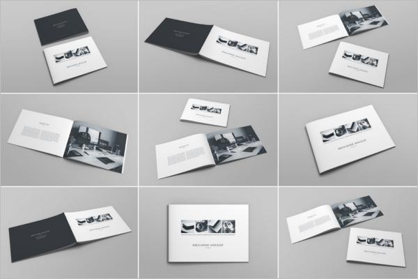 A4 Brochure Mockup Bundle Design