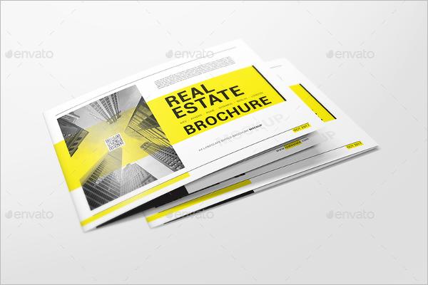 A4 Folded Booklet Mockup Design