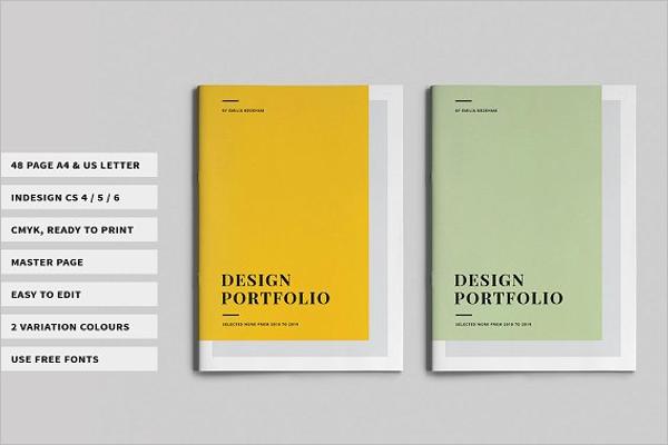 A4 Graphic Design Template