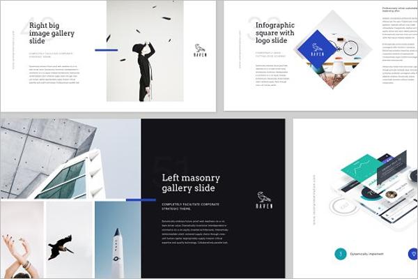 A4 Keynote Presentation Design