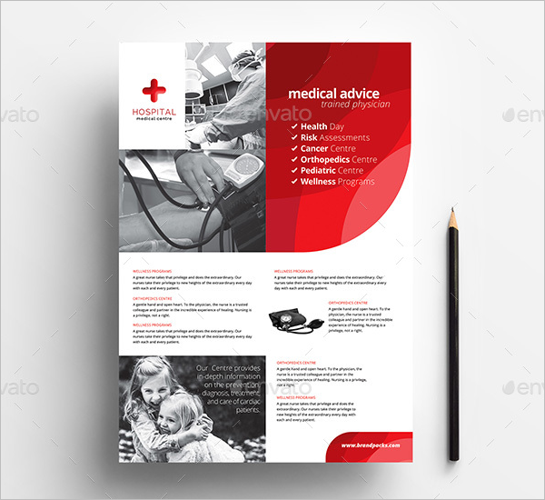 A4 Medical Poster Template