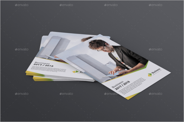 A5 Business Flyer Template