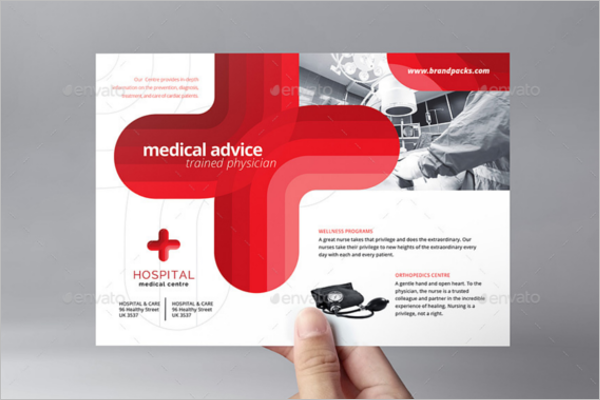 A5 Medical Flyer Template