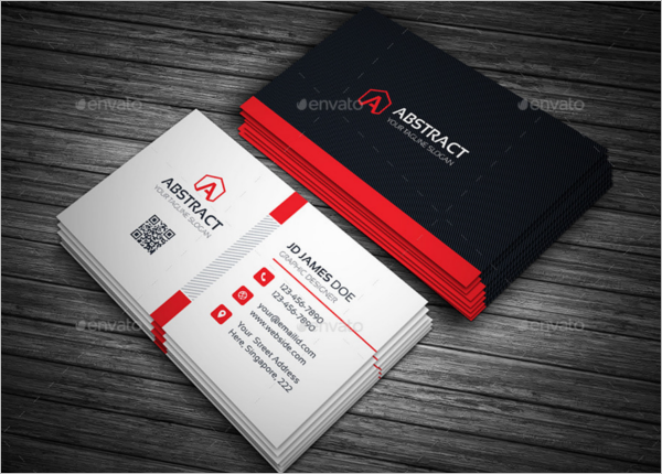 Abstract Corporate Business Card Design