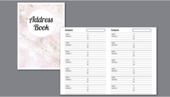 Address Book Templates