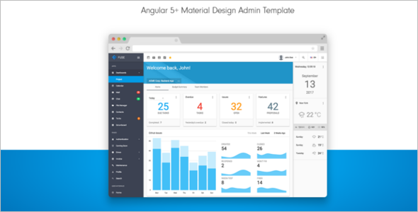 Admin Bootstrap Template