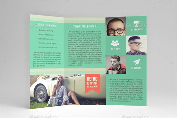 Advertisement Brochure Template