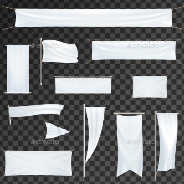 Advertising Banner Flag Design