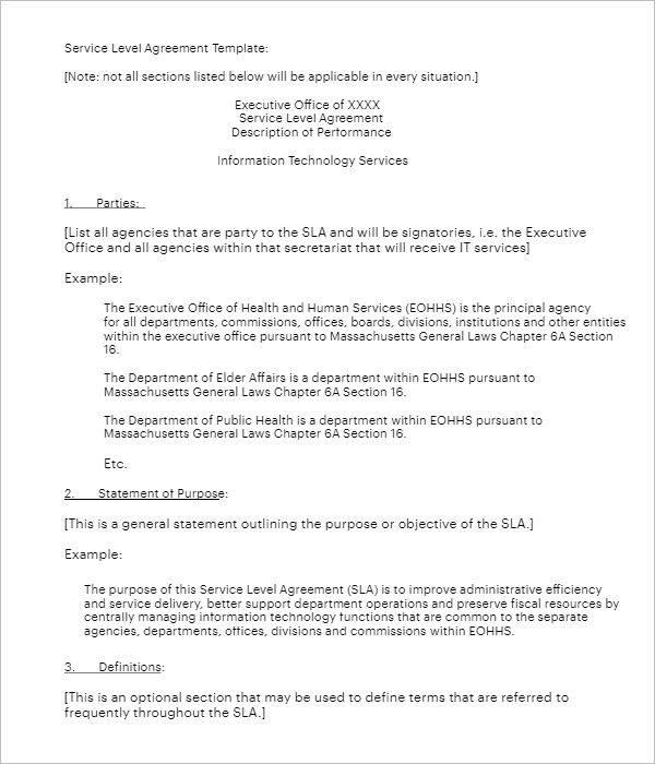 Agreement Form For Rent